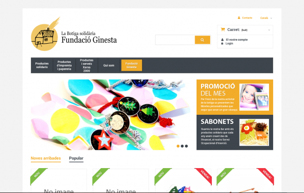 Fundació Ginesta (botiga en línia)